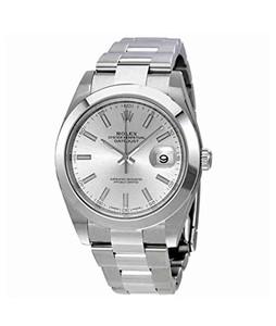 Rolex Datejust 41 Mens Watch Silver (126300SSO)