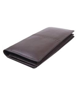 Julke Mocca Leather Wallet For Men Olive - Long