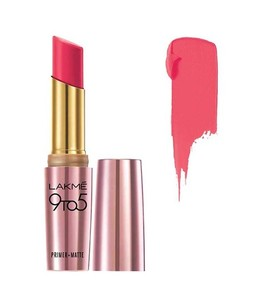 Lakme 9 To 5 Matte Lipstick (MP16 Pink Perfect)
