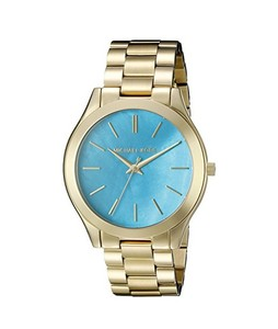 Michael Kors Slim Runway Womens Watch Gold (MK3492)