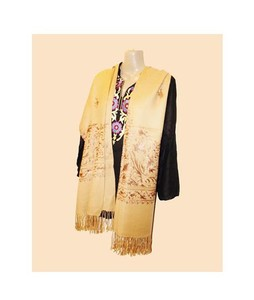 SubKuch Embroidery Kashmiri Shawl For Women (0210)