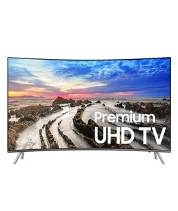 Samsung 55 4K Smart Curved UHD LED TV (55MU8500)