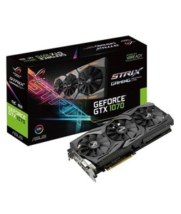 Asus ROG Strix GeForce GTX 1070 OC Edition 8GB GDDR5 Graphics Card