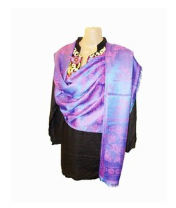 SubKuch Silk Pashmina Shawl For Women (UP-0016)