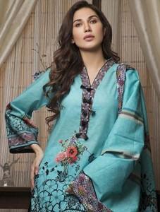 Khas Stores Aquam Levi Embroidered Lawn For Women (KLA-9038)