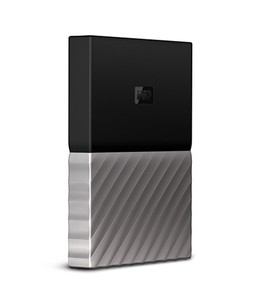 WD My Passport Ultra 4TB Portable Hard Drive Black/Gray (WDBFKT0040BGD-WESN)