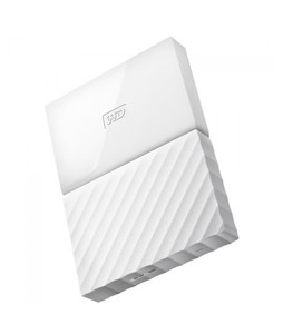 WD My Passport 4TB Portable External Hard Drive White (WDBYFT0040BWT)