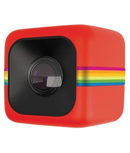 Polaroid Cube Mini Lifestyle Action Camera Red