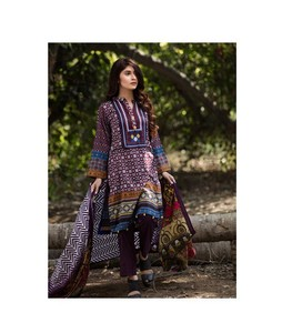 Anum Womens Lawn Vol 3 2018 (AL-01A)