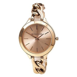 Michael Kors Slim Runway Womens Watch Rose Gold (MK3223)