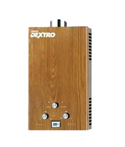 Sogo Dextro Gas Water Heater Oak Wood