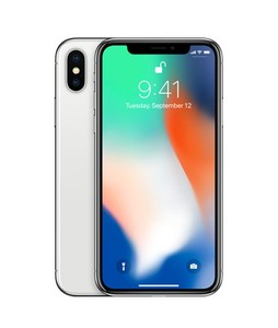 Apple iPhone X 256GB Silver With FaceTime