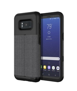 Incipio Wallet Esquire Dark Gray Case For Galaxy S8+