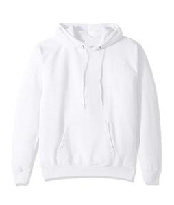 HS Store Full Sleeve Hoodie For Men White (0042)