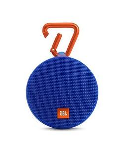 JBL Clip 2 Waterproof Portable Bluetooth Speaker Blue