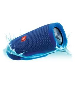 JBL Charge 3 Waterproof Portable Bluetooth Speaker Blue