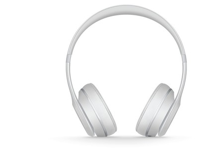 Beats Solo 3 Wireless Bluetooth On-Ear Headphones Matte Silver