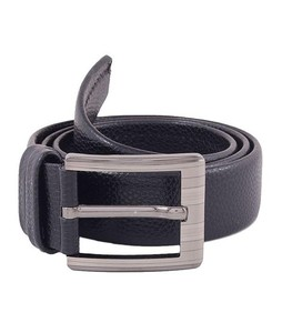 24/7 Fashion Pure Leather Belt For Men Black
