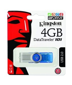 Kingston Data Traveler 101 4GB USB 2.0 (QS16)