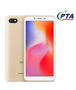 Xiaomi Redmi 6A 16GB Dual Sim Gold - Official Warranty