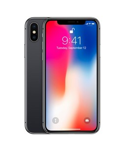 Apple iPhone X 64GB Space Gray With FaceTime