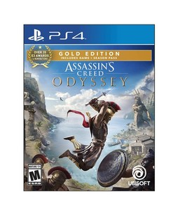 Assassins Creed Odyssey Gold Edition Game For PS4