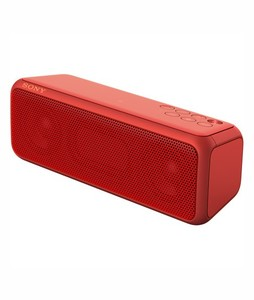 Sony Portable Bluetooth Wireless Speaker Red (SRS-XB3)