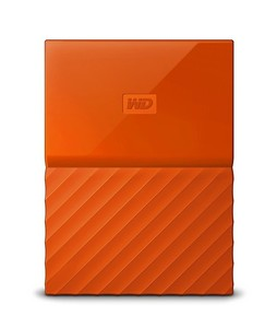 WD My Passport 4TB Portable External Hard Drive Orange (WDBYFT0040BOR-WESN)