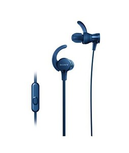 Sony Extra Bass Sports In-Ear Headphones Blue (MDR-XB510AS)