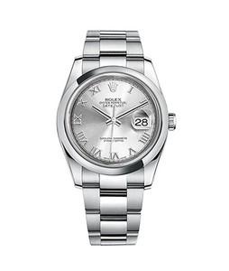 Rolex Datejust 36 Mens Watch Silver (116200-0055)