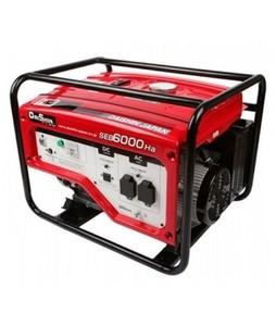Daishin Honda 4 KVA Generator Without Battery And Wheel Kit Red (SEB-6000)