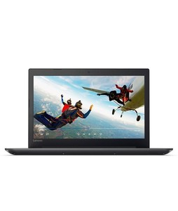 Lenovo Ideapad 320 15.6 Core i3 7th Gen 4GB 1TB Laptop Black - Official Warranty