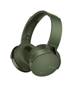 Sony Extra Bass Wireless Bluetooth Over-Ear Headphones Green (MDR-XB950N1)