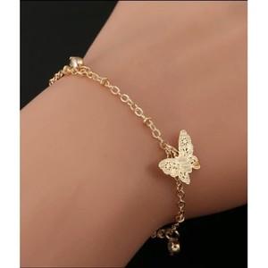 Scenic Accessories Butterfly Bracelet For Women Gold