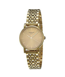 Tissot T-Classic Womens Watch Gold (T1092103302100)