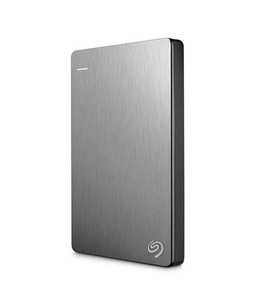 Seagate Backup Plus Slim 1TB Portable Hard Drive Silver STDR1000301