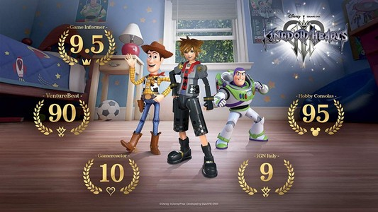 Kingdom Hearts III Game For PS4