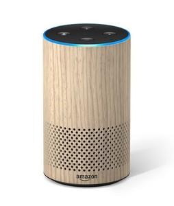 Amazon Echo 2nd Generation Smart Speaker Oak Finish