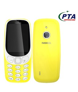 Nokia 3310 3G Dual Sim Yelloew - Official Warranty