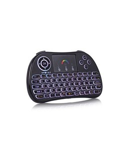 MaujTech P9 Wireless Mini Keyboard Touch Mouse Combo Black