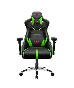 Fatal X Warcry PC Gaming Chair Green/Black