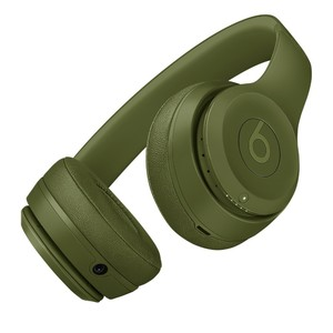 Beats Solo 3 Neighborhood Collection Wireless Bluetooth On-Ear Headphones Turf Green