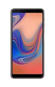 Samsung Galaxy A7 2018 128GB 4GB Dual Sim Gold (A750FD) - Official Warranty With Power Bank