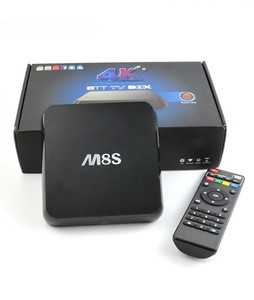 Corporate Traders Android Smart Tv Box M8S 2G+8G Quad Core 2k+4k