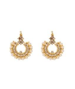 Asaan Buy Stylish Gold Plated Earrings (J-026)
