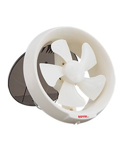 Royal Plastic Window Exhaust Fan 6 White