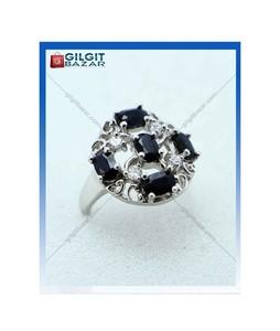 Gilgit Bazar Sapphire Stone Ring For Women (GB1896)