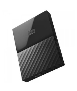 WD My Passport 1TB Portable External Hard Drive Black (WDBYNN0010BBK)