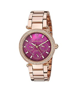 Michael Kors Mini Parker Womens Watch Rose Gold (MK6403)