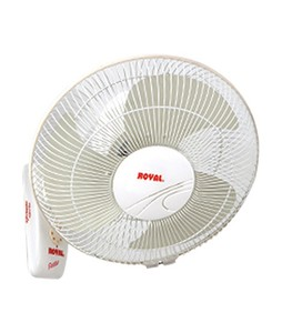 Royal Petite Deluxe Bracket Fan 12 Off-White